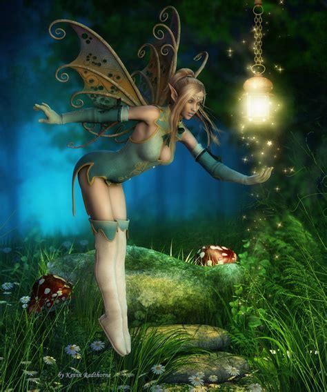 Catching The Fairy Light By Radthorne On Deviantart Light Fairies