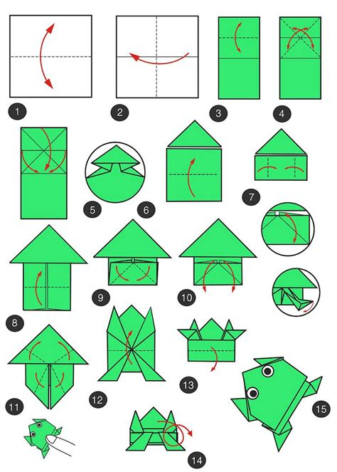 making origami jumping frog 7 best oragami images on pinterest papercraft baby