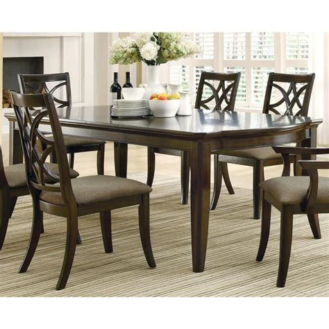shop allen espresso finish  piece dining set  extension leaf  shipping today