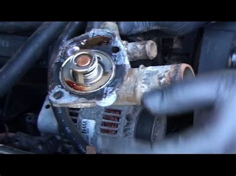 1998 Jeep Thermostat How To Change A 1998 Jeep Wrangler Tj
