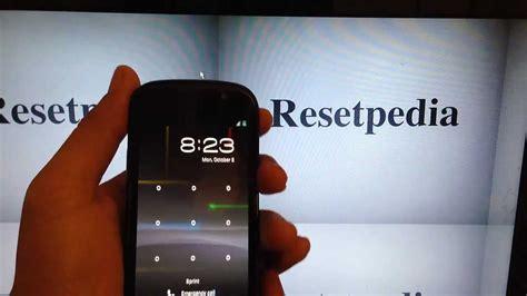 reset sprint online password google nexus s sprint hard reset password removal factory