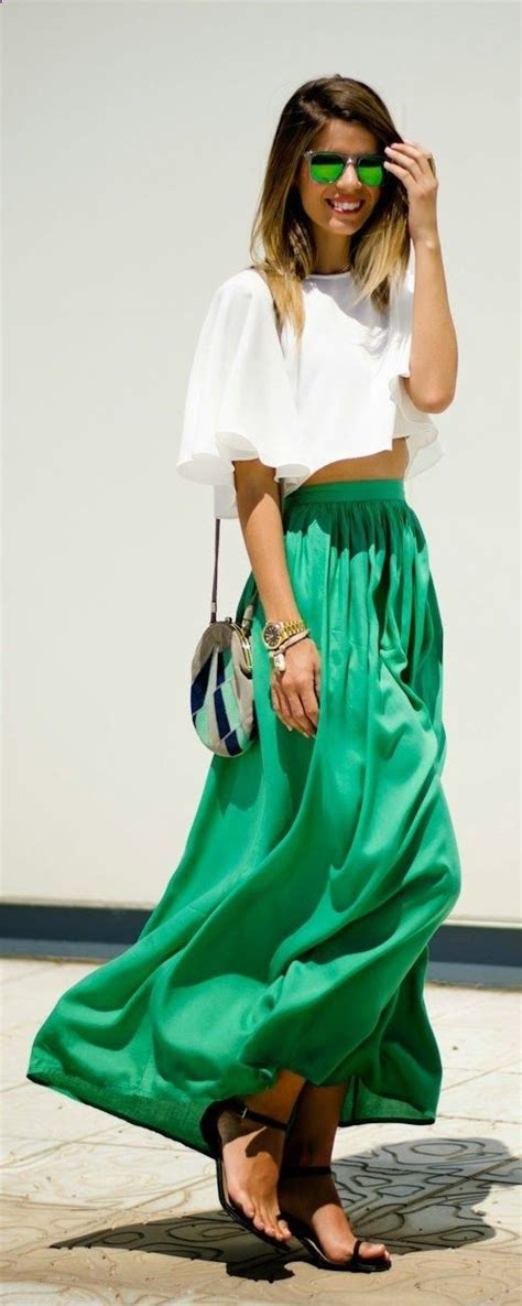 17 best ideas about green skirts on midi skirt