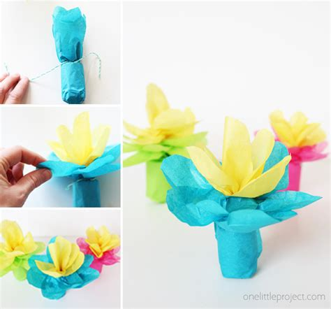 gift wrapping flowers simple flower wrapping one project