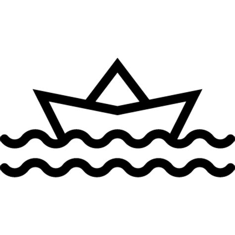 paper boat outline paper boat sailing free vectors logos icons and photos