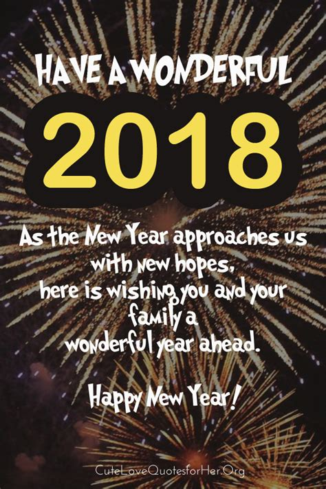 official new year 2018 greetings top 20 happy new year 2018 images and quotes for him