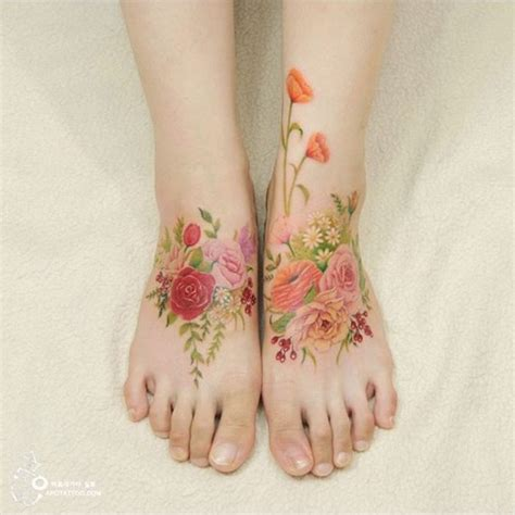 this artist s tattoos look like watercolor paintings