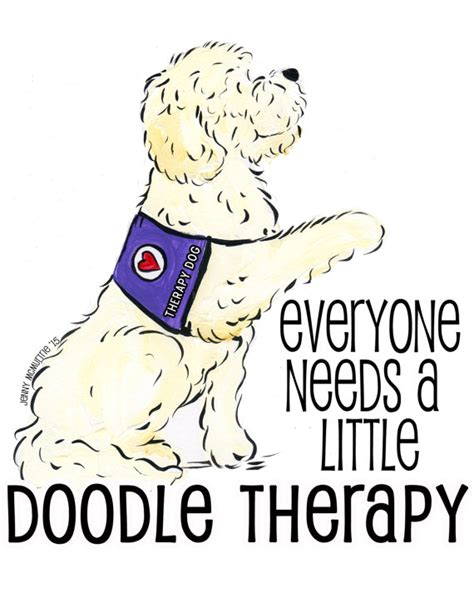 doodle therapy goldendoodle labradoodle therapy unisex t shirt