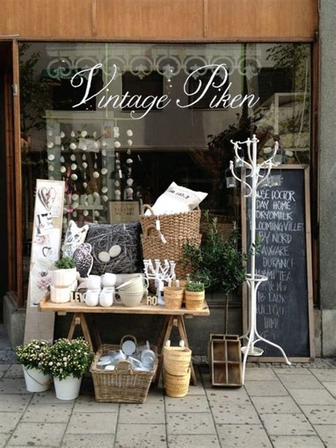 little store of home decor name for vintage booth display pinterest