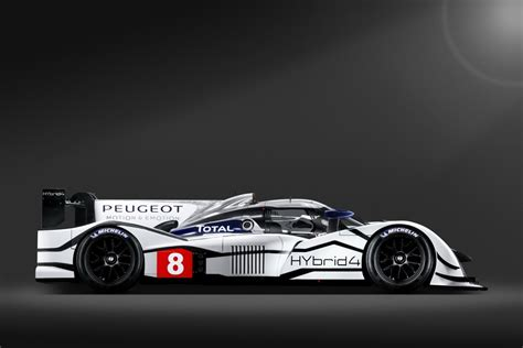 peugeot lmp1 green er racing peugeot 908 hybrid4 lmp1 race car