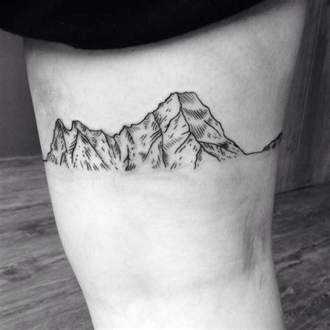 white mountain tattoo 63 wonderful mountain tattoos