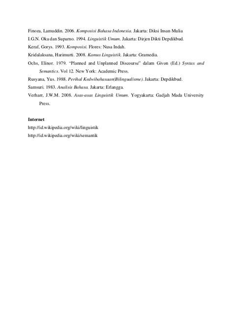 Komposisi Bhs Indonesia By Lamuddin Finoza Diamorf Dalam Bahasa Indonesia Dan Bahasa Sunda Jatmika