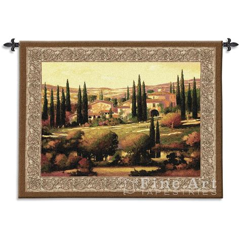tapestry home decor tuscan decor tapestry wall hanging tuscan gold h40 quot x w53 quot