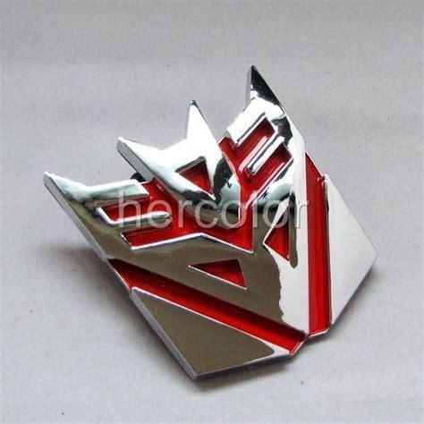 Emblem Decepticon Crom Plastik Dc01 4 quot transformers decepticon decal car sticker emblem ebay
