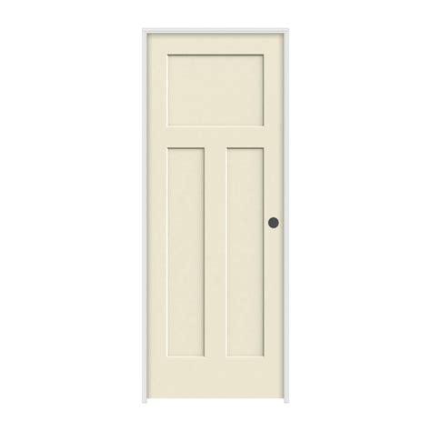 3 Panel Interior Doors Craftsman 3 Panel Primed Molded Solid Wood Composite Interior Doors Prehung Ebay