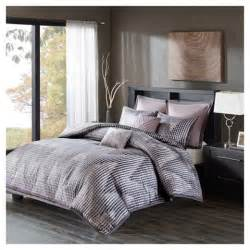 lavender shelby jacquard comforter set california king