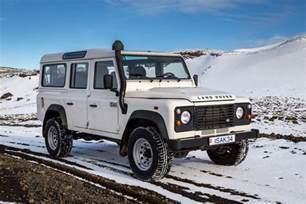 Car Rental Iceland Defender Choose Your 4x4 Truck For Iceland Isak 4x4 Rental