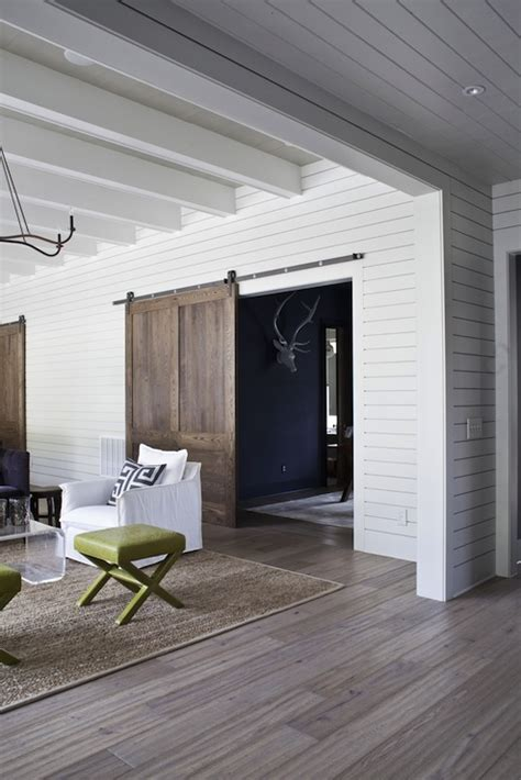 sliding living room doors sliding barn door eclectic living room a wilson architect