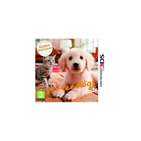 nintendogs plus cats golden retriever nintendogs cats golden retriever et ses nouveaux amis level al 232 s