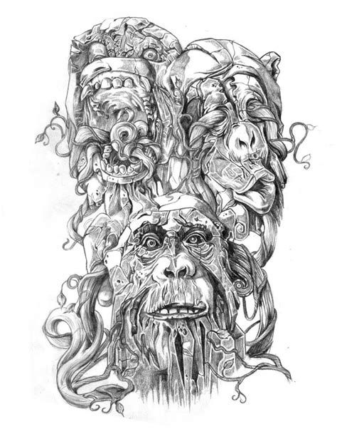 three monkeys tattoo design 17 best images about wise monkeys on t shirts