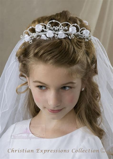 communion hairstyles for girls 78 best images about amelia s first communion on