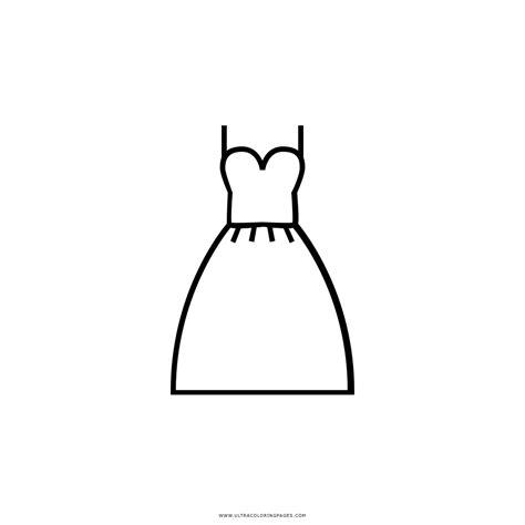 imagenes para colorear vestido dibujo de vestido de novia para colorear ultra coloring