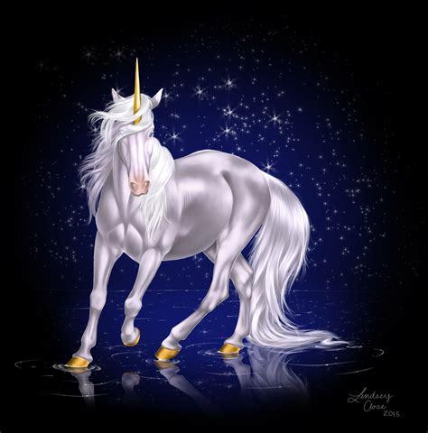 free unicorn painting unicorn by peabluejr on deviantart