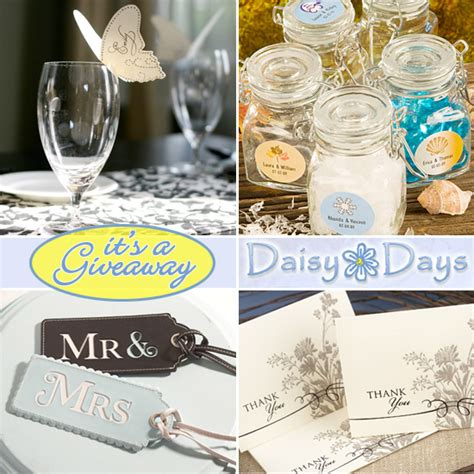 Wedding Gift Giveaway Ideas - wedding giveaway daisy days 100 gift certificate