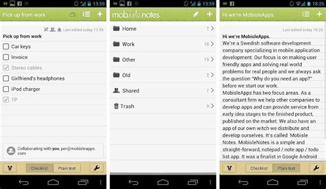 best note taking apps for android android authority - Notes App Android