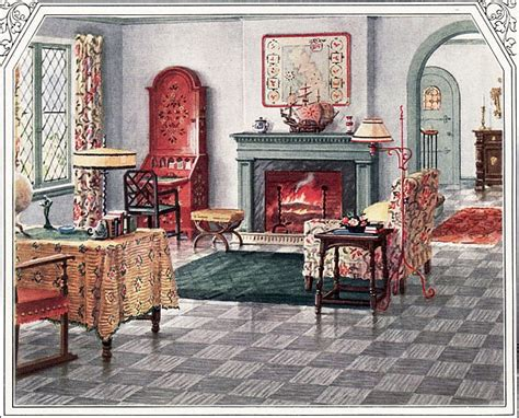 1920s Living Room pin by design of the room on 1920 s home