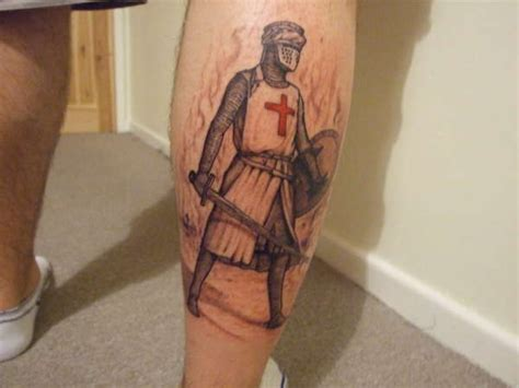 knights templar cross tattoo templar