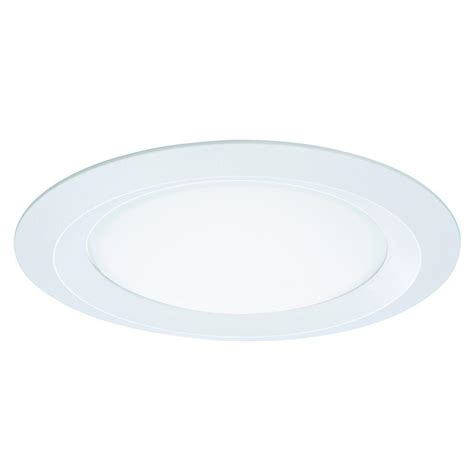 halo shower light trim halo e26 series 5 in white recessed ceiling light self