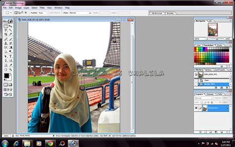 tutorial edit gambar guna adobe photoshop khalila tutorial photoshop background hitam pada gambar