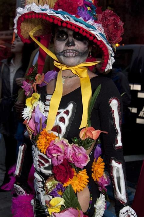scary cool catrina costume neatorama