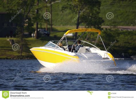 cartoon yellow boat yellow boat royalty free stock image cartoondealer