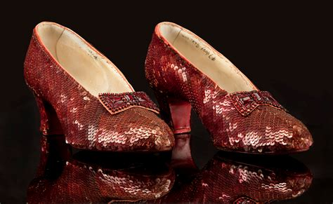 where are the ruby slippers costumes from the wizard of oz the golden brick road