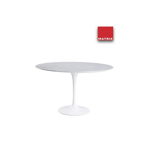 tavolo rotondo tavolo rotondo matrix international sa69 6mc design eero