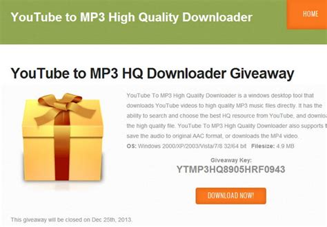 download youtube to mp3 high quality mp3toolkit com offers christmas giveaway for its music and