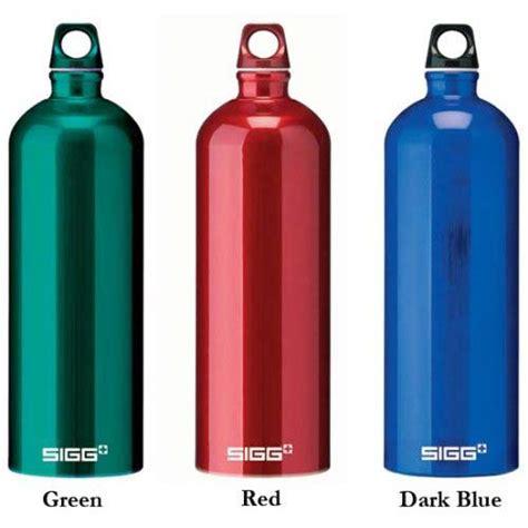 aluminium bottle sigg switzerland aluminum water bottles the green head