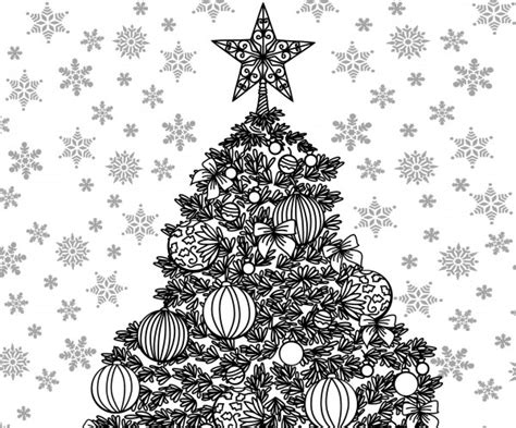 christmas themed adult coloring sheet craftbits com