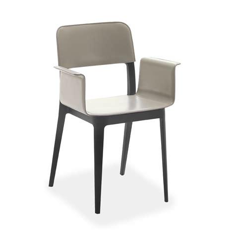 sedia poltroncina sedia poltroncina di design rivestita cuoio nen 232 p cu