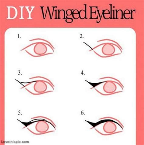 tutorial quotes breaking it down step by step tutorial on winged eyeliner