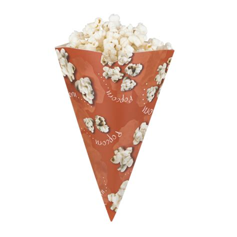 How To Make Paper Cones For Popcorn - popcorn cones popcorn boxes trays general