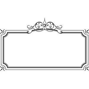Bordir Elegan White free microsoft borders and frames wow image