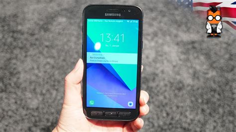 samsung galaxy xcover 4 on a rugged outdoor smartphone
