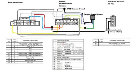 pioneer unit wiring diagram wiring diagram and