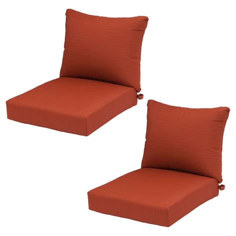 Ft. Walton 2pk Deep Seating Chair Back Cushion/Seat