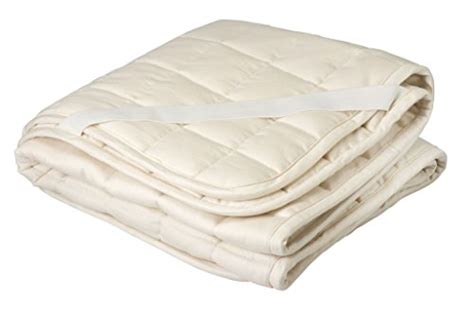 Organic Mattress Pad by Crib Mattress Pad Greenbuds Organic Cotton Wool Quilted