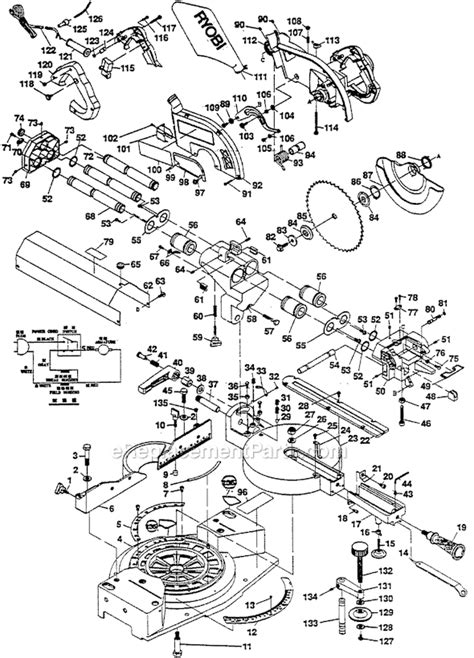 Ryobi Tss200 Parts List And Diagram 001001 001900