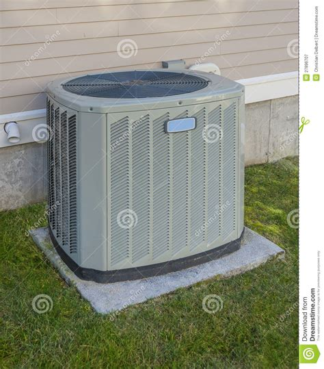heating  cooling unit royalty  stock photography