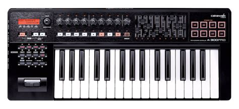 Keyboard Roland Midi A 500 Pro cakewalk a pro series a new series of usb midi keyboard controllers developed in conjunction